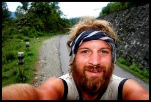 David Burns climbs into the Himalayas.
