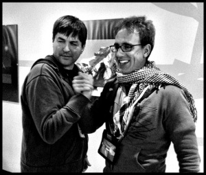 filmmakers Daniel Byers and Mike Scholtz, Oct 2012.